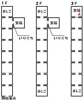 アスラの塔マップ