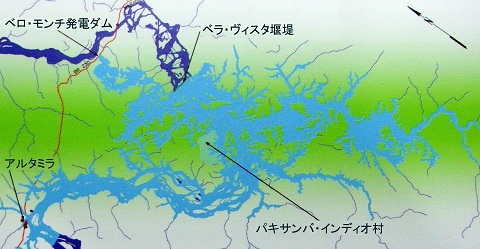新大陸の猛釣魚 ベロ・モンチ・ダム(シングー・ダム)について