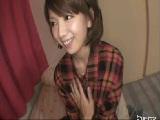 陽気で可愛いお姉さんとハメ撮り(無料エロ動画)