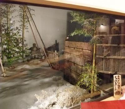 竹の四季・雪のお庭