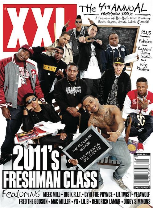 XXL Freshman 2011 Cover_1half