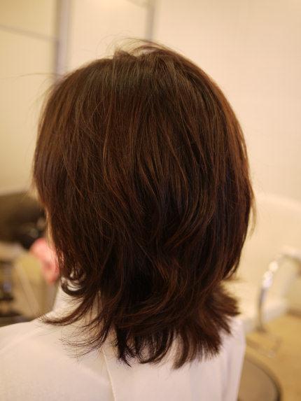 岡山の美容室Clickのクリープパーマ