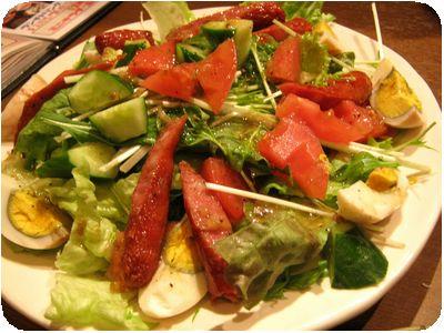 芝虎サラダ
