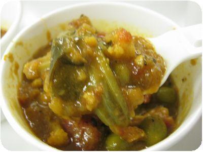 ミックス野菜カレー
