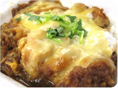チーズカレーカツ丼