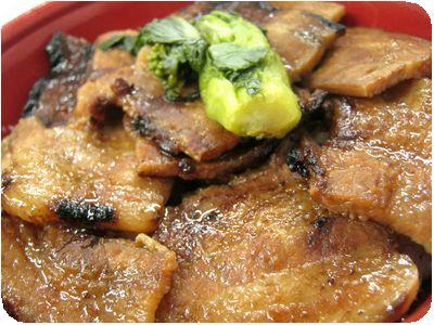 豚丼(中)