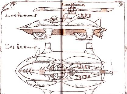 マークXの設計図
