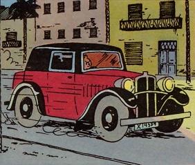 Rosengart LR2 Spider-Coupe
