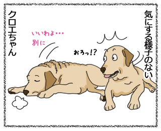 羊の国のラブラドール絵日記「記念日」4