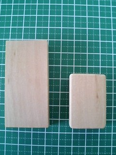 木片を持ち手に加工