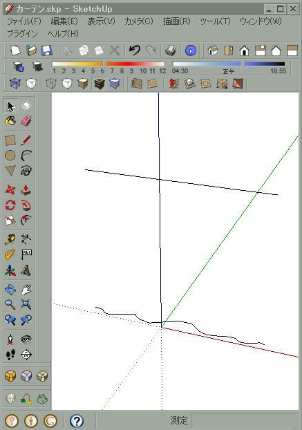Google SketchUp 8 プラグイン 「CurviLoft」 - ゆとりのひまつぶし