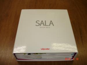 リリカラカーテンカタログ「2010-2012 SALA(サーラ)」