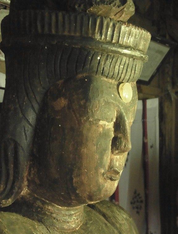 小沼神社・聖観音像頭部