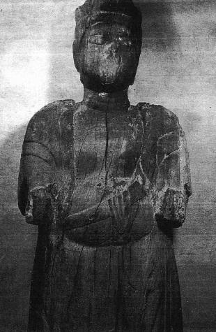 談山神社・伝十一面観音像~「古仏への視点」掲載写真