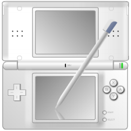 Nintendo DS with pen