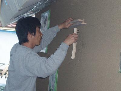 s-そとん壁施工 4