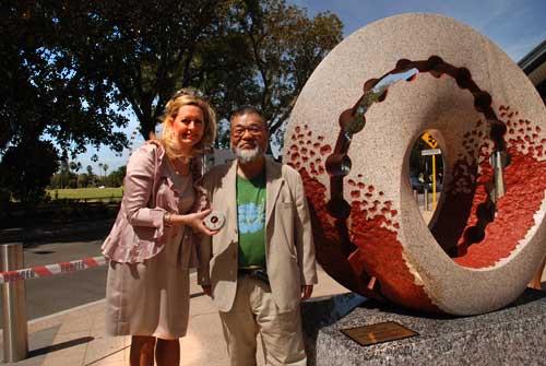 lord mayor and keizo ushio