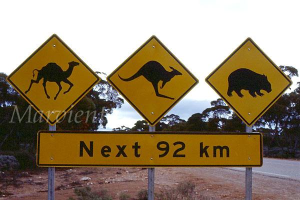 オーストラリアの標識