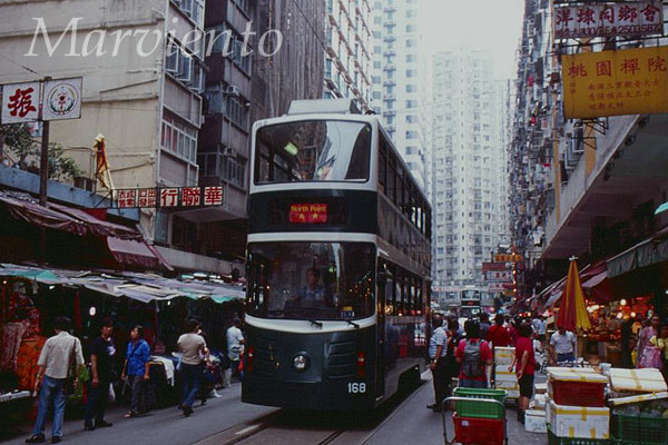 香港/2階建てトラム