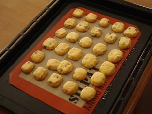 ホワイトデーやプレゼントにチョコチップの瓶詰めクッキー06
