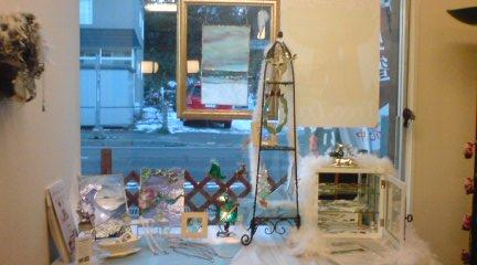 旧道茶屋展示