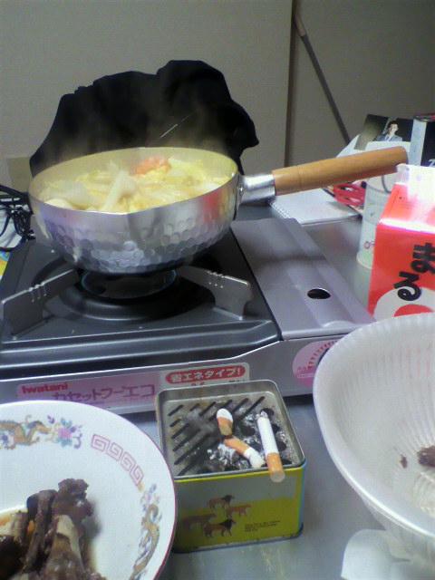 鍋に日本酒に豚足に(^.^)
