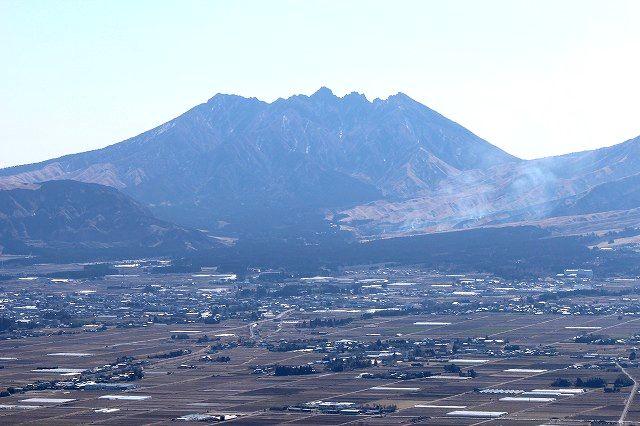 大観峰より阿蘇