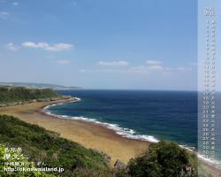 沖縄,海,摩文仁
