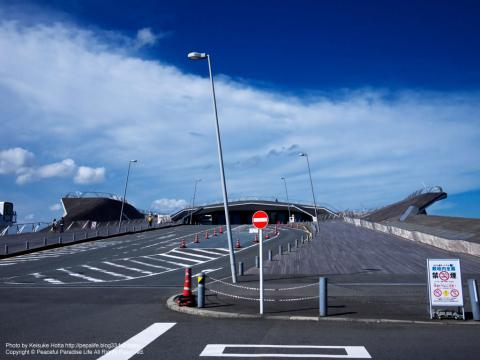 大さん橋の入口