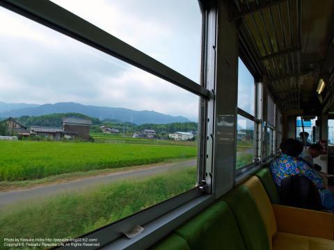 土讃線からの車窓の景色
