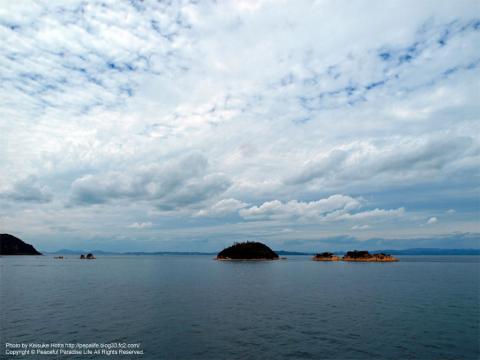 瀬戸内海の静かな景色