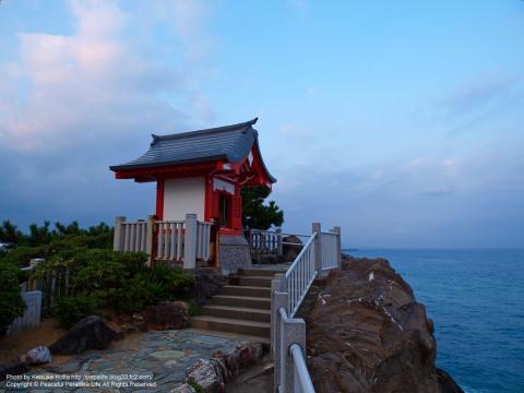 桂浜の竜王宮 海津見(わたつみ)神社