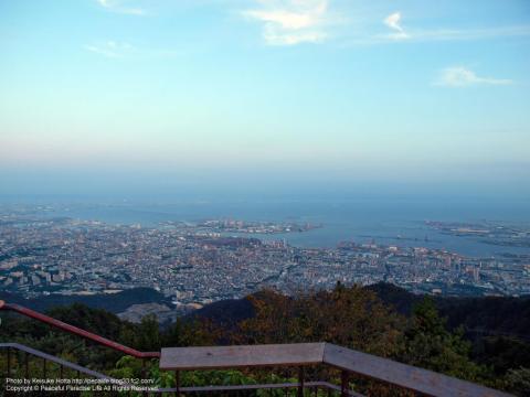 摩耶山掬星台展望台の眺望