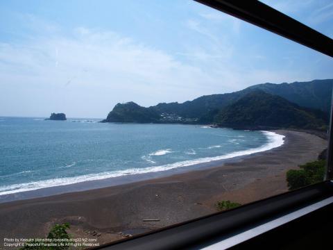 土讃線の車窓の景色
