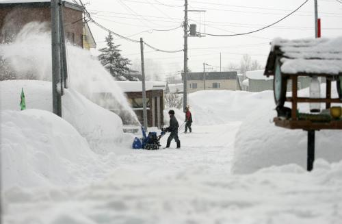 ご近所の除雪