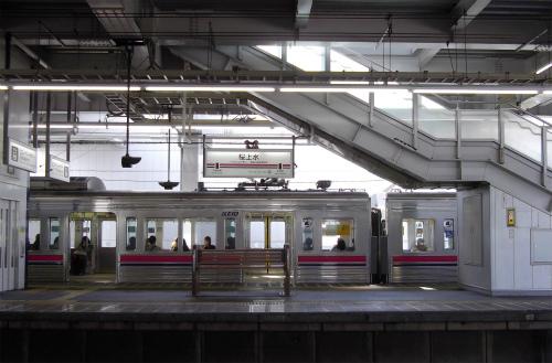 下宿への駅