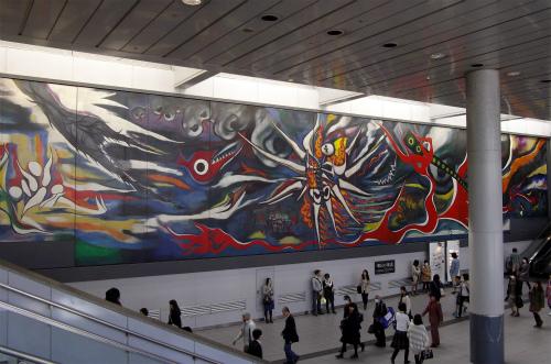 渋谷駅 岡本太郎 1969 「明日の神話」