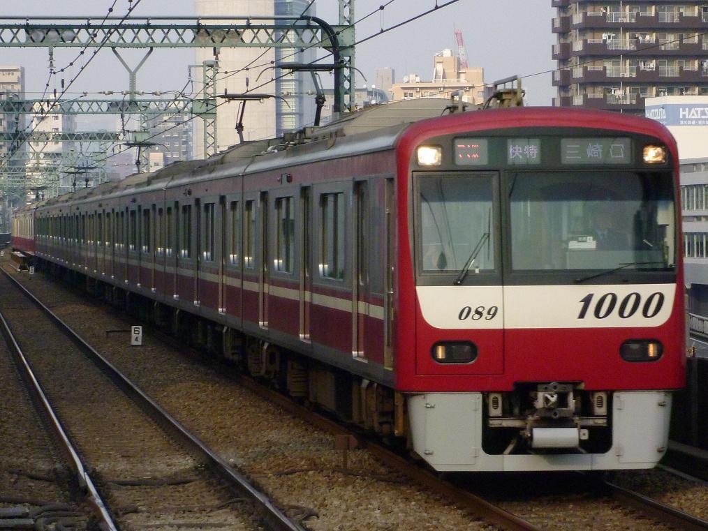 12/30 鉄道撮影記 京急撮影@大森海岸