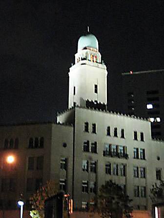 クィーンの塔2009年11月
