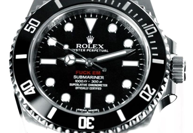 low priced 9332a 2311a Supreme × ロレックス(Rolex) サブマリーナ コラボ [動画 ...