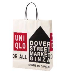 ユニクロ × ドーバーストリートマーケット ショッピングバッグ