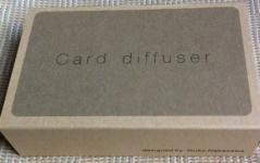 card diffuserパッケージ