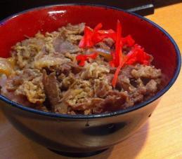 天亀・牛丼 (2)