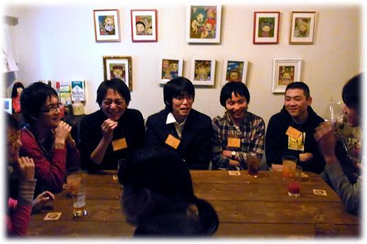 2011.2.13狼ゲーム会の模様