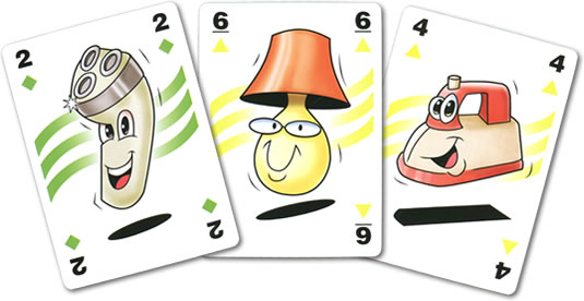 バーゲンハンター:カード3枚