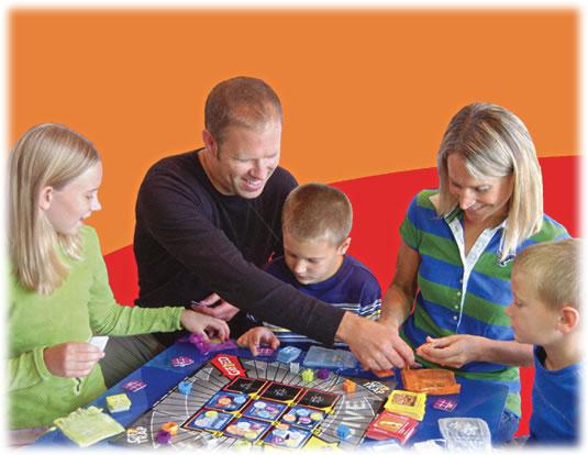 ギフトトラップ:家族で遊戯中