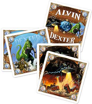 チケット トゥ ライド拡張:アルヴィン&デクスター:カード