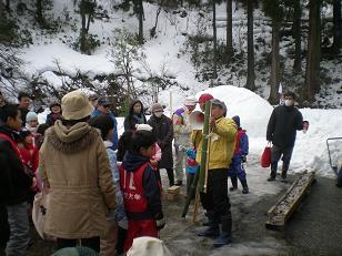 竹スキーづくりでは、大変苦労したようでした・・・