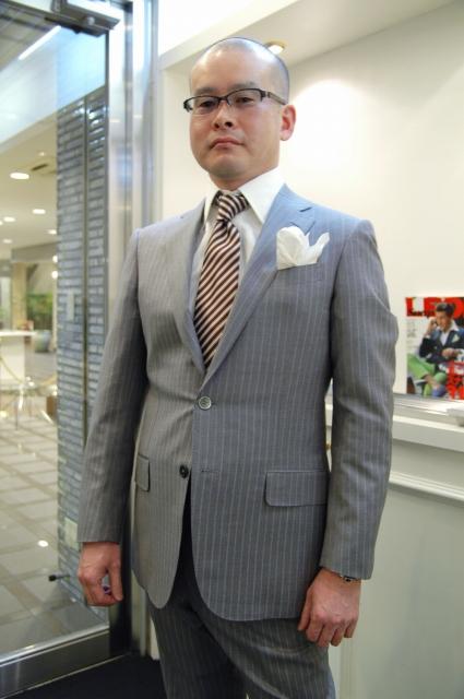 DORMEUIL ドーメル オーダースーツ名古屋