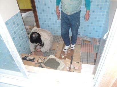 M邸浴室改修